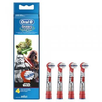 Recambio dental Oral-B Stages Power Star Wars Pack 4 unidades