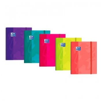 Carpeta Oxford A4 gomas Soft Touch (Varios colores)