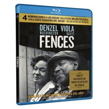 Fences - Exclusiva Fnac - Blu-Ray + Libreto