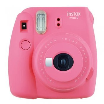 Cámara instantánea Fujifilm Instax Mini 9 Rosa flamingo