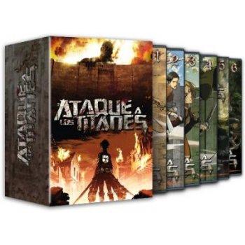 Ataque a los Titanes - Temporada 1 - DVD