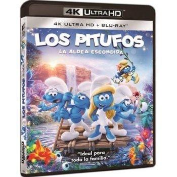Los pitufos. La aldea escondida (UHD + Blu-Ray)