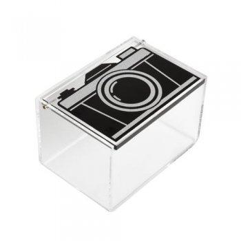 Caja de almacenamiento Polaroid Cámara Vintage