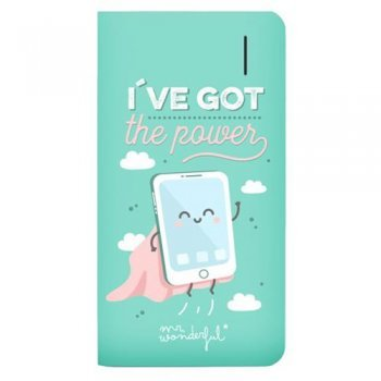 Powerbank Mr Wonderful I´ve got the power 6000 mAh