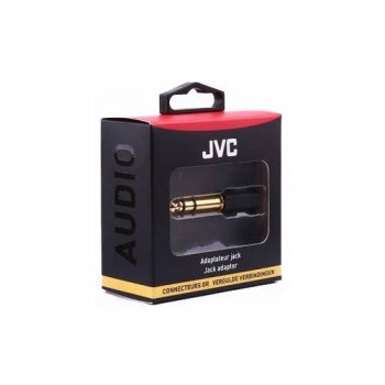 Adaptador JVC mini jack 3,5 mm a jack 6,35 mm