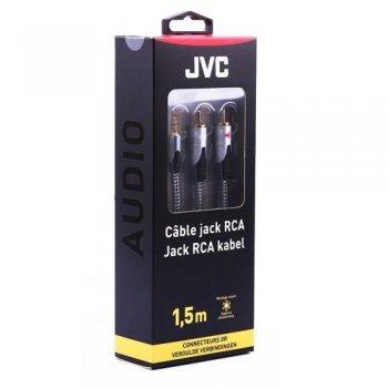 Cable Jack 3.5mm - 2 RCA JVC 1,5m