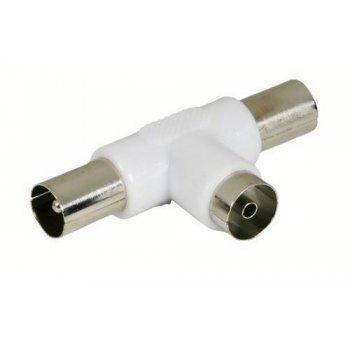 Adaptador antena Temium hembra-2 macho 9,5 mm