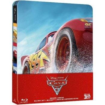 Cars 3 (Steelbook) (Blu-Ray + 3D)