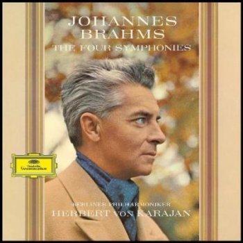 Berliner Philharmoniker. Herbert Von Karajan. Johannes Brahms: The Four Symphonies (4 Vinilos)