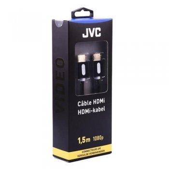 Cable JVC Cordon HDMI con Ethernet Negro 1,5 m