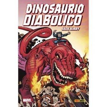 100% Marvel HC. Dinosaurio Diabólico de Jack Kirby