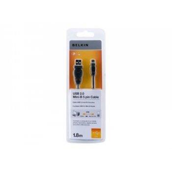 Cable Belkin USB A - Mini USB 1,8 m Negro