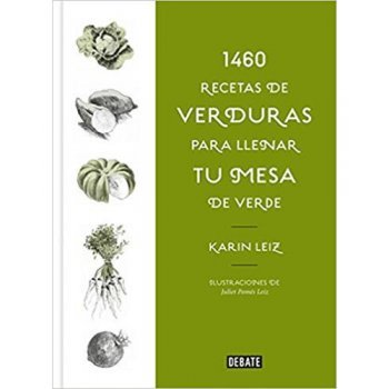 1460 recetas de verduras
