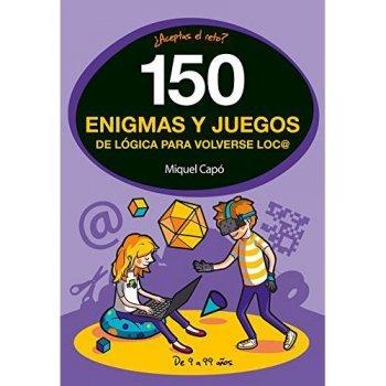 150 enigmas y juegos de logica para