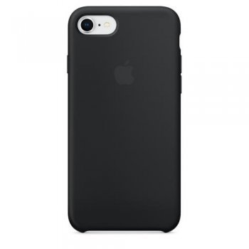 Funda Apple Silicone Case Negro para iPhone 7/8