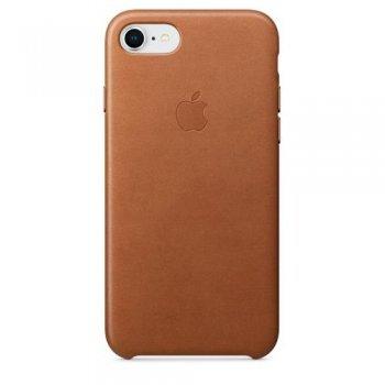 Funda Apple Leather Case para el iPhone 8/7 Marrón caramelo