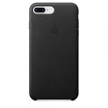 Funda Apple Leather Case para el iPhone 8 Plus/7 Plus Negro