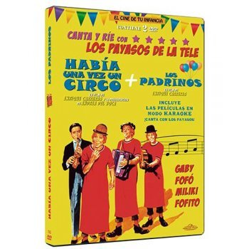 DVD-PACK LOS PAYASOS DE LA TELE (2)