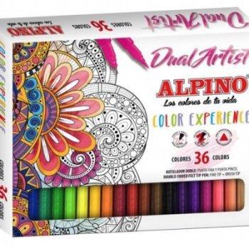 Alpino-36 rotuladores color experience