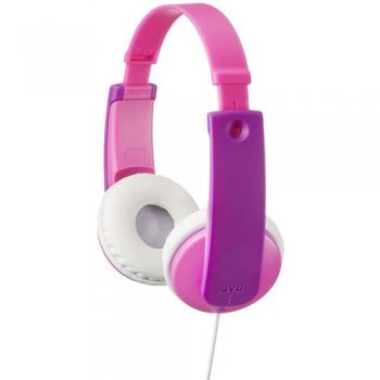 Auriculares JVC HA-KD7 Tinyphones Kids Rosa