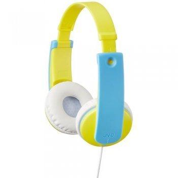 Auriculares JVC HA-KD7 Tinyphones Kids Amarillo - Azul