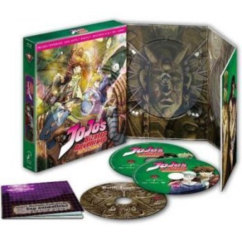 Pack Jojo's Bizarre Adventure. Battle Tendency (Blu-Ray) (Temporada 1, parte 2) - Ed. Coleccionistas