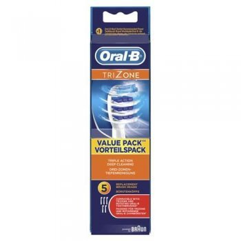 Pack 5 cabezales Oral-B TriZone