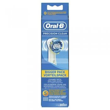 Pack 5 unidades cabezal Oral-B Precision Clean