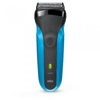 Afeitadora Braun Serie 3 310S Azul - Negro