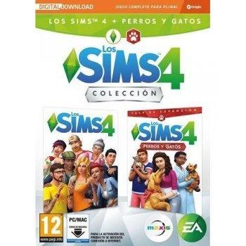 Los Sims 4 Juego + Expansión Perros y Gatos PC
