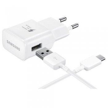 Cargador Samsung TA20EWECGWW USB-C Blanco