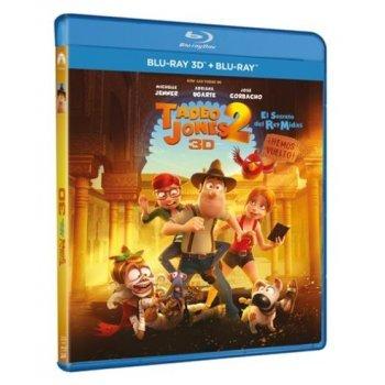 Tadeo Jones 2. El secreto del Rey Midas (3D + Blu-Ray)