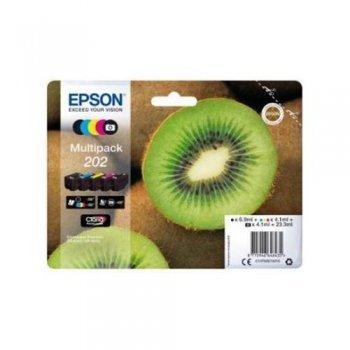 Epson tinta Multipack 202 cinco colores (MCYBBP)