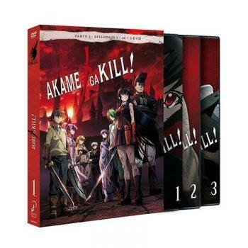 Akame Ga Kill - Parte 1 Ep  1-12 - DVD
