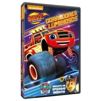 Blaze y los Monster Machines 8. Corredores luminosos - DVD