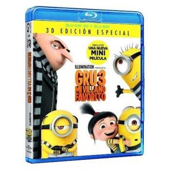 Gru 3. Mi villano favorito (3D + Blu-Ray)