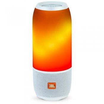 Altavoz Bluetooth LED JBL Pulse 3 Blanco