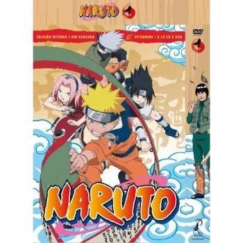 Box Naruto Vol. 1  - 1 a 25