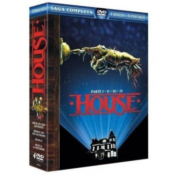 Pack House, una casa alucinante (1-4) - Ed. Coleccionista lenticular - DVD