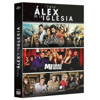 Pack Álex de la Iglesia - Exclusiva Fnac - DVD