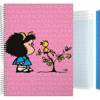 Cuaderno Mafalda A5 pájaro 100 hojas