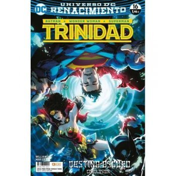 Batman/Superman/Wonder Woman: Trinidad núm. 16 (Renacimiento) Grapa