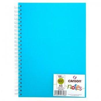Canson-album esp 14x21 notes azul05