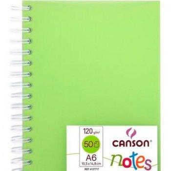 Canson-album esp 10x14 notes verd05