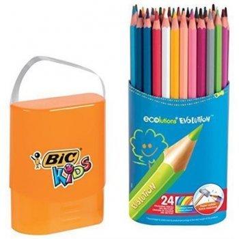 24 lápices para colorear Bic Evolution