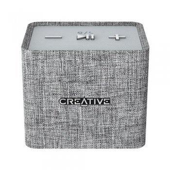 Altavoz Bluetooth Creative NUNO Micro Gris