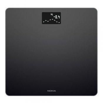 Báscula Wi-Fi Nokia Body Negro
