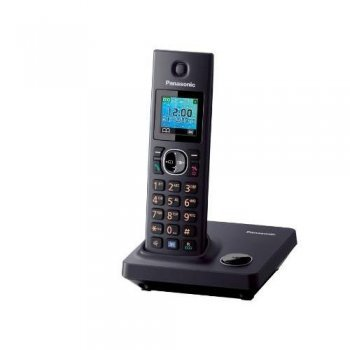 Teléfono inalámbrico Panasonic KX-TG7851 negro