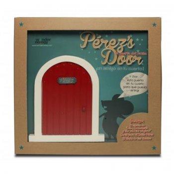La puerta del ratoncito Pérez (Perez's door Roja) y el cuento León, Carmencita y las puertas mágicas