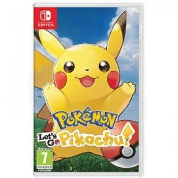 Pokémon Let's Go, Pikachu! Nintendo Switch